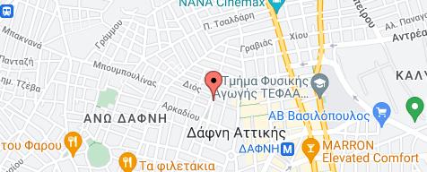 Εντοπισμός της τοποθεσίας της επιχείρισης στον χάρτη