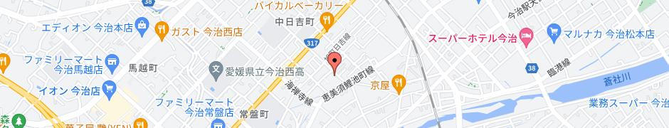 企業/組織の所在地の地図