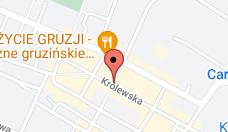 Mapa z lokalizacją firmy