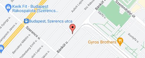 Az üzleti hely térképe