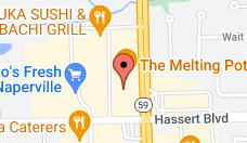 Map and directions to Naperville Plainfield chiropractic office