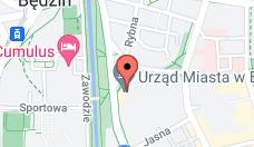 Urząd Miejski w Będzinie - lokalizacja