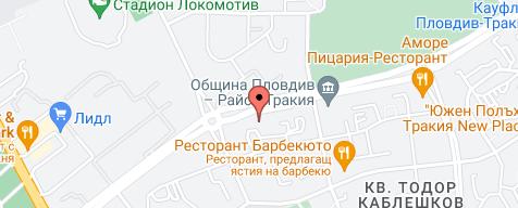 Карта на местоположението на фирмата