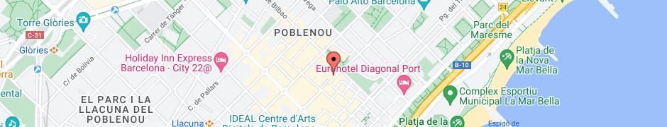 Mapa de la ubicació de l'empresa